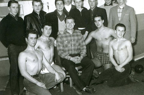 Am Graben 26 - Im ersten Bodybuilding- Studio Deutschlands - Danke an Peter Steinmüller