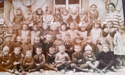 Klassenfoto Ende der 1920er