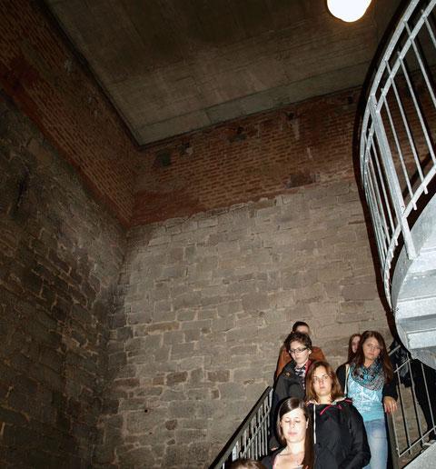 Der Weg in den Keller des Weißen Turms