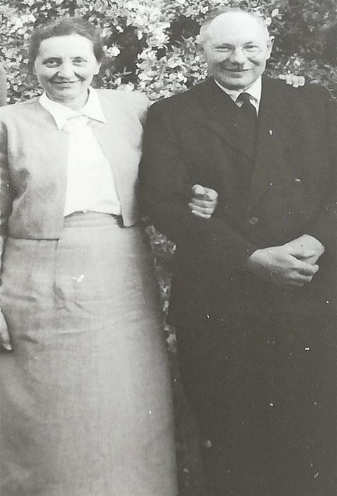 Hans und Anna Habdank Sommer 1953