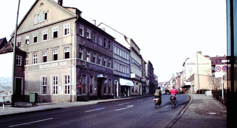 1977 mit Sennfelder Hof und Wienerwald - Danke an Christel Feyh