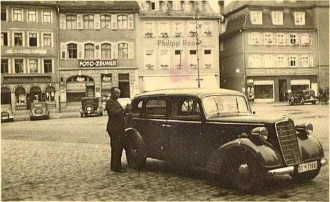 Am Marktplatz 1938 - Danke an Isolde und Frederick Miller!