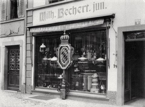 Fa. Wilhelm Bechert jun. - Schultesstraße 8 - 1914 - Danke an Frau Christel Feyh