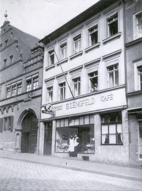 Café Lengfeld um 1930