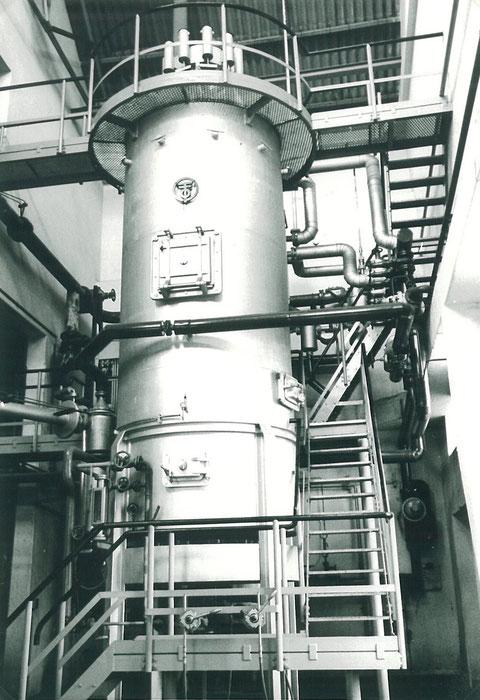 Spaltanlage Ofen III  1965