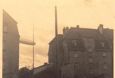 Zeppelin über Schweinfurt