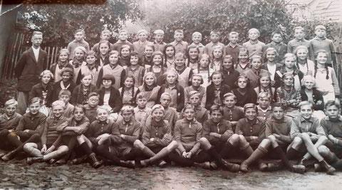 Klassenfoto um 1930