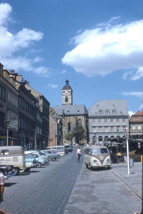 Am Marktplatz 1959 - Foto: Franz Schwalb