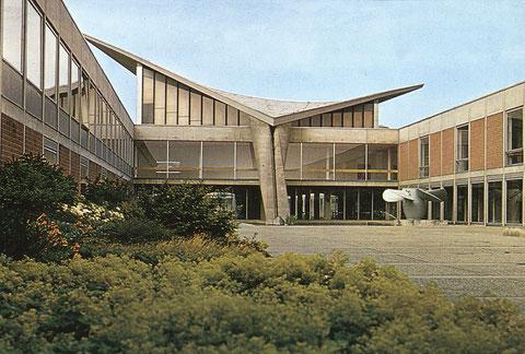 Mit einem einmaligen Geniestreich gelang es OB Georg Wichtermann, wichtige Teile der fachhochschule nach Schweinfurt zu holen - Schweinfurt wurde Hochschulstadt