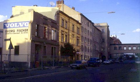 Schrammstraße in den 1960ern