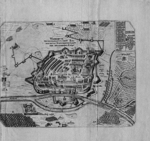 1647 der Ausfall der Kaiserlichen gegen die Schweden (erfolglos)