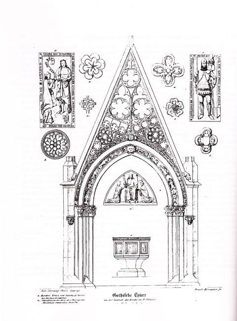 Gotische Türe