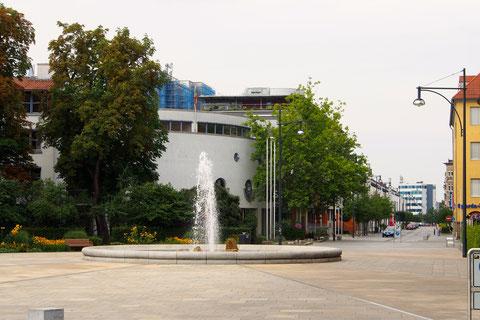 Schillerplatz nach der Umgestaltung