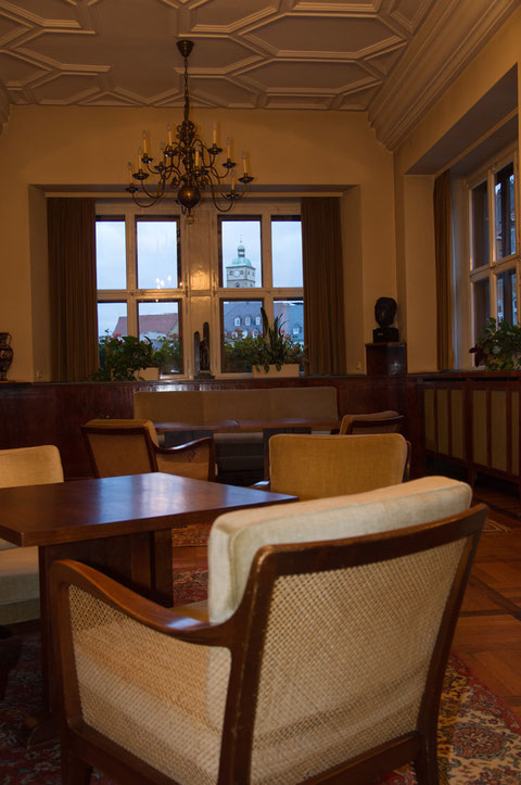 Amtszimmer im Rathaus
