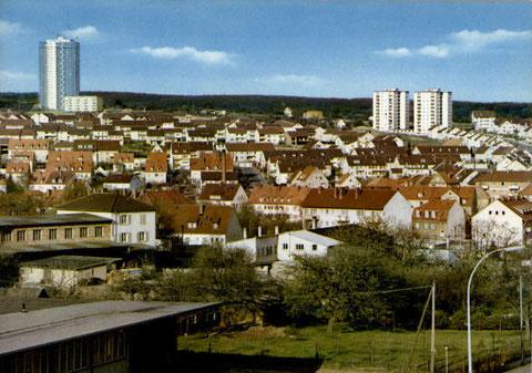 links Steinberg - rechts Hochfeld
