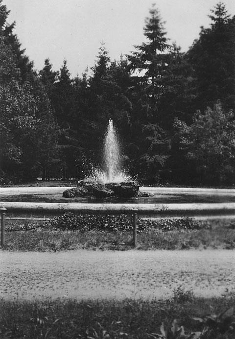 Im Stadtpark in den Wehranlagen im Jahr 1930 - Danke an Holger Meyer