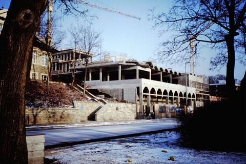 1987 - Bau des Ämtergebäudes - Danke an Christel Feyh