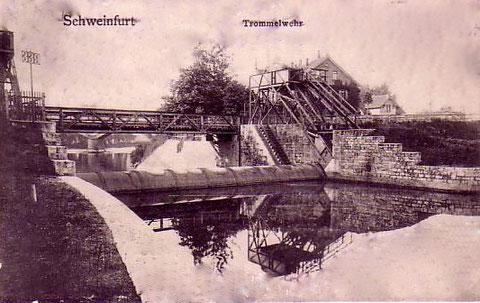 Trommelwehr um 1910