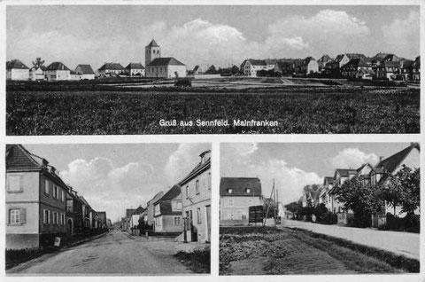 Mehrbildkarte ca. 1940 - Danke an Michl Kupfer