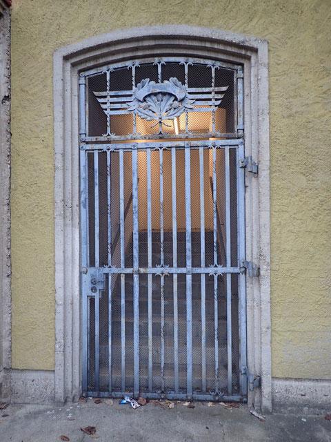 Der einstige Haupteingang zur Kilian Straße (Nr.18)