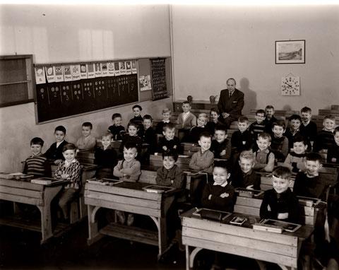 Ludwigschule November 1962 - Lehrer: Georg Hofmann (1907 - 2005)
