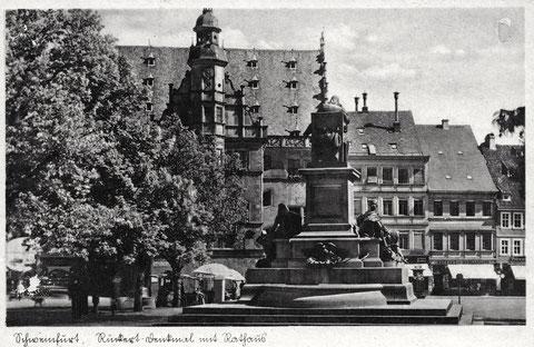 Marktplatz in den 1930ern