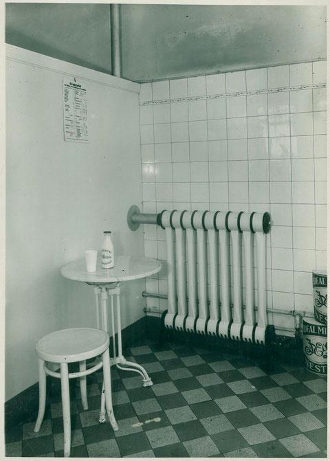 Molkerei Kress Filiale in der Spitalstraße 1937