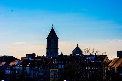 Blick von Süden nach Schweinfurt