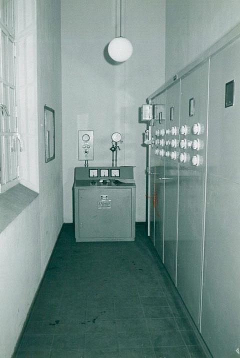 Schaltraum Gebläse Elektroteerschneider