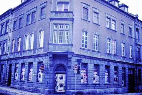 Ecke Brückenstraße / Judengasse 19.02.1985 - Danke an Christel Feyh