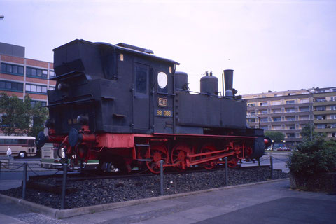 Juni 1989 - vor dem Hauptbahnhof Foto: Franz Schwalb