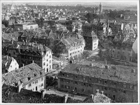 Blick auf die südliche Altstadt