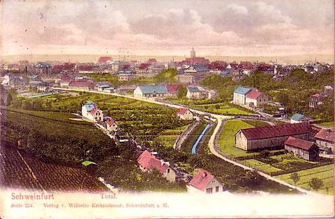 Schweinfurt um 1904