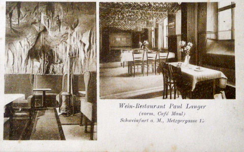 1925 - Weinrestaurant Paul Langer