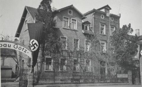 Saalbau Götz um 1935 - Danke an Thomas Horling