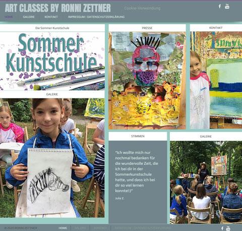 """""""Sommerkunstschule Home"""""""