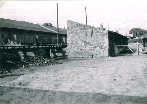 Anschlussgleis Stadtbahnhof vor Umbau