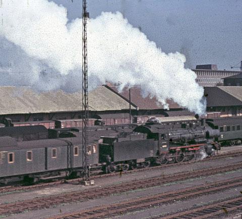 Um 1960 im Schweinfurter Hauptbahnhof