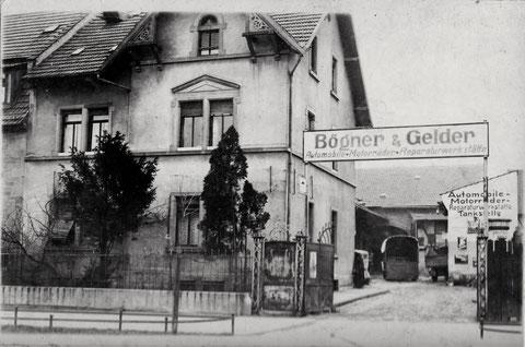 Fa. Bögner & Gelder Vorkriegszeit - Niederwerrner Str.18 ???