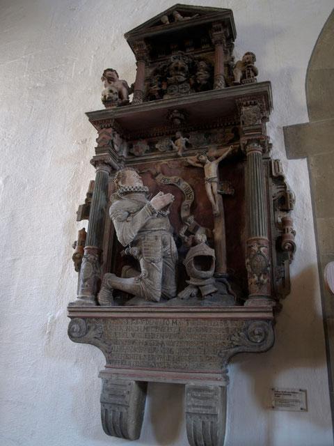 Juncker Wolff Christoph von Steinau, heute in der St. Johanniskirche