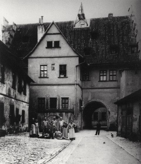 Ebracher Hof, Vorderhaus, 1903