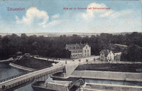 Die Gegenansicht um 1912