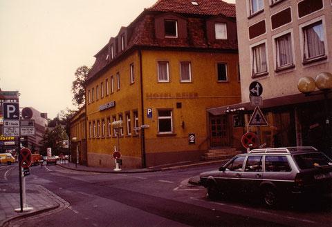 Rückertstrasse Cafe Baier