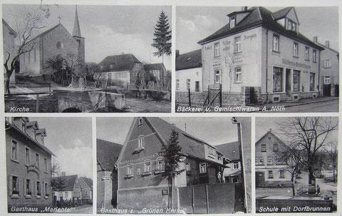 Dittelbrunn in den 1930ern