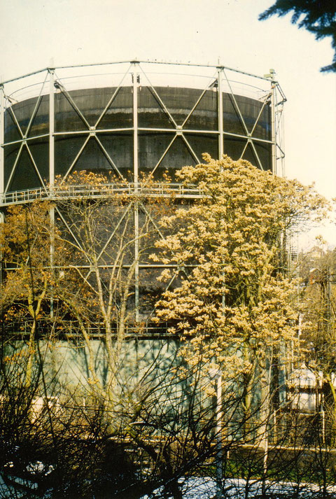 Gaswerk am Marienbach Schweinfurt - vor dem Abriss