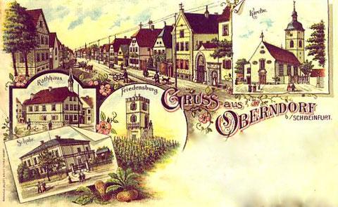 Oberndorf um 1900