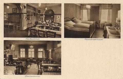 Hotel Post Bahnhofhotel Inh. Chr. Wetterich 1943