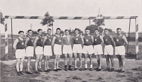 1. Handballmannschaft 1930/31 Nordbayerischer Handballmeister