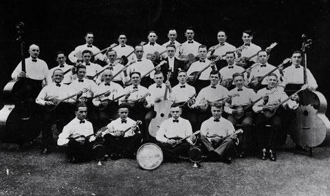 Mandolinen- und Lautenchor Schweinfurt in den 1920ern