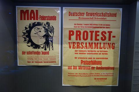Plakate der Arbeiterbewegung